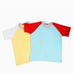 Combo 2 áo thun nam 100 cotton hàng chất lượng- xanh vàng