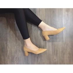 Giày cao gót gót trụ hàng đẹp