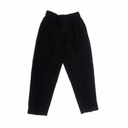 Quần tây baggy phối túi phong cách màu đen