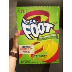 Kẹo dẻo cuộn Fruit By The Foot - Combo 2 cuộn
