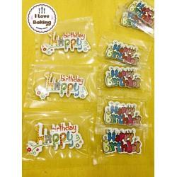 combo 10 Miếng trang trí Happy Birthday