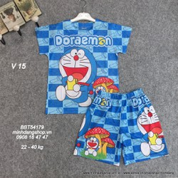 Đồ bộ hình Doraemon chất thun lạnh mềm mát