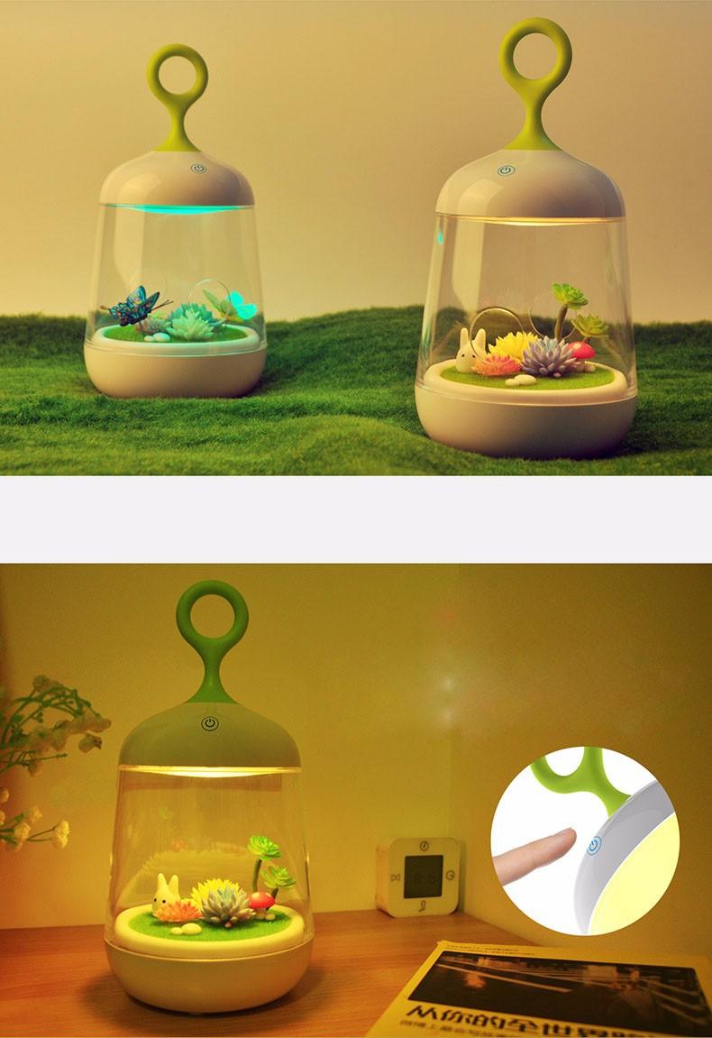 Đèn ngủ sáng tạo tự trang trí phong cảnh - đẹp lạ Món quà ý nghĩa 5