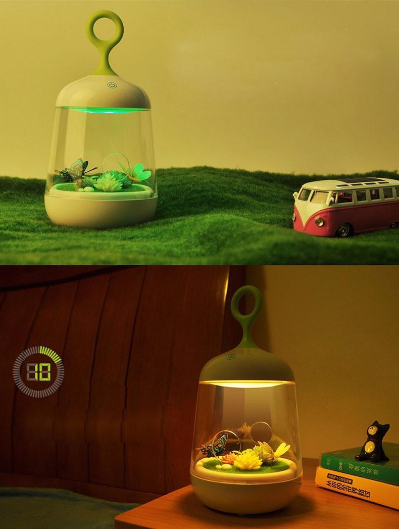 Đèn ngủ sáng tạo tự trang trí phong cảnh - đẹp lạ Món quà ý nghĩa 2