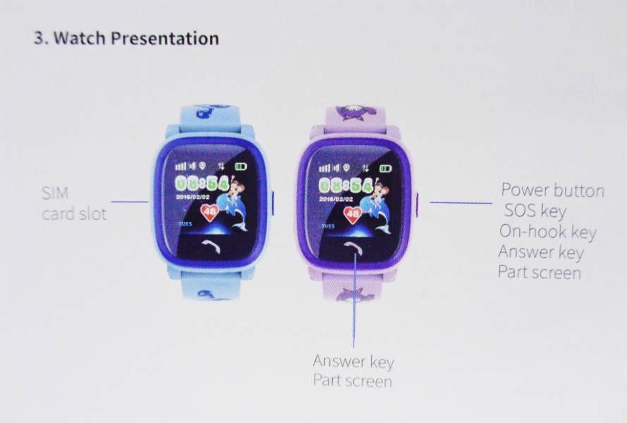 Đồng hồ thông minh Q50-V6S 1