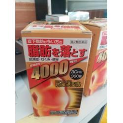 Viên giảm cân tan mỡ bụng Nhật Bản