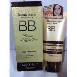 Kem BB cream dưỡng ẩm Mayfiece Beauty Cream 60m - HX1649