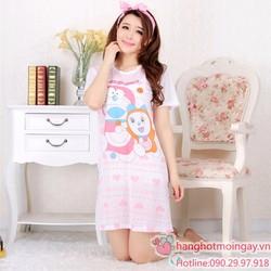Đầm ngủ hoạt hìnhdoremon