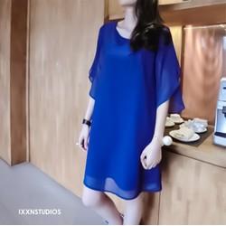 Đầm Suông Oversize Tay Cánh Tiên D498