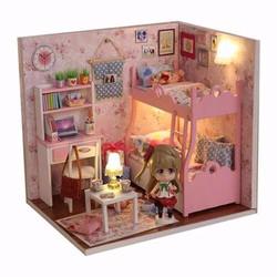 Nhà mô hình gỗ phát triển tư duy sáng tạo cho bé-mô hình nhà gỗ