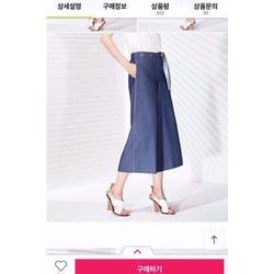 Quần Cullotes xuất Hàn jean VNXK