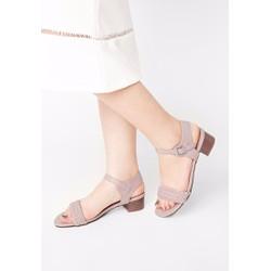 Sandal quai đan 3cm