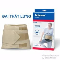 Đai lưng hỗ trợ đau và chấn thương lưng Actimove Lumbal, size S