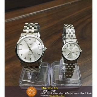 [VIDEO] Đồng hồ đôi cao cấp Halei - Giá 1 cặp - 046 thumbnail