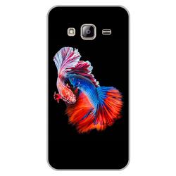 Ốp lưng Samsung Galaxy J3 - Fish Couple