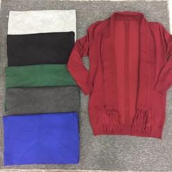 Áo khoác len tua rua 5 màu hàng nhập QC