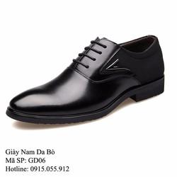 Giày da bò - Mẫu mới, sang trọng, lịch lãm