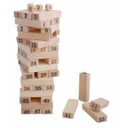 Bộ đồ chơi rút gỗ 48 thanh