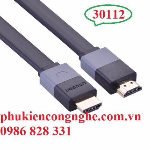 Cáp HDMI 5m mỏng dẹt hỗ trợ 3D 4K Chính hãng Ugreen UG-30112 - 4916183 , 6645523 , 15_6645523 , 270000 , Cap-HDMI-5m-mong-det-ho-tro-3D-4K-Chinh-hang-Ugreen-UG-30112-15_6645523 , sendo.vn , Cáp HDMI 5m mỏng dẹt hỗ trợ 3D 4K Chính hãng Ugreen UG-30112