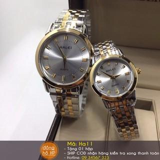 Đồng hồ đôi cao cấp Halei - 044 thumbnail