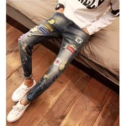 quần jeans rách vảy mực robers Mã: ND0827