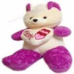 Gấu bông ôm tim my love