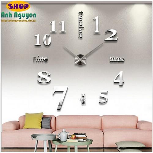 Đồng hồ treo tường 3D loại to - 7811573 , 6643341 , 15_6643341 , 320000 , Dong-ho-treo-tuong-3D-loai-to-15_6643341 , sendo.vn , Đồng hồ treo tường 3D loại to