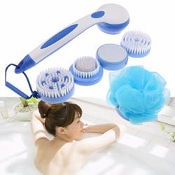 Bộ dụng cụ tắm massage Spin Spa