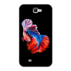 Ốp lưng Samsung Note 2 - Fish Couple