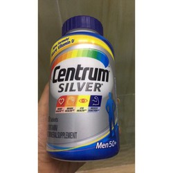 Centrum Silver men 50+ 250 viên