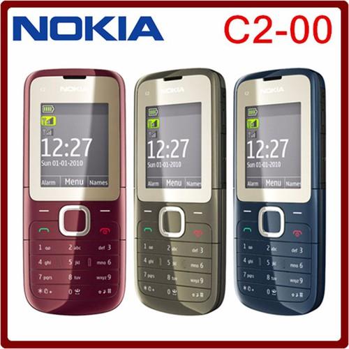 Điện Thoại Nokia C2-00 2 Chính Hãng 2 sim - 6014943 , 10114192 , 15_10114192 , 490000 , Dien-Thoai-Nokia-C2-00-2-Chinh-Hang-2-sim-15_10114192 , sendo.vn , Điện Thoại Nokia C2-00 2 Chính Hãng 2 sim