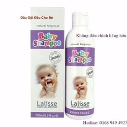 Dầu gội đầu cho bé Lalisse skin solutions