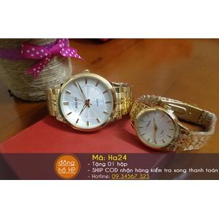 [VIDEO] Đồng hồ đôi cao cấp - giá 1 cặp - 052 thumbnail
