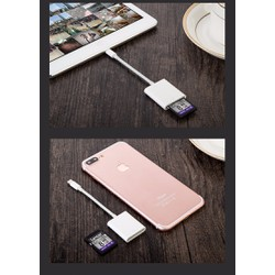 Cáp Apple Lightning to Sd Reader