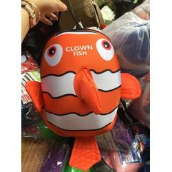 Balo hình cá cho bé đi học