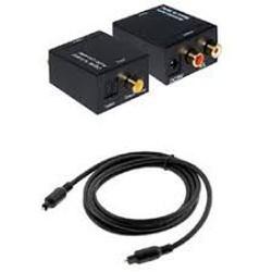 Bộ, Thiết bị chuyển đổi quang Optical Digital sang Audio AV Analog