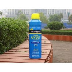 Xịt Chống Nắng Neutrogena Cool Dry Sport Sunscreen Spray SPF 70