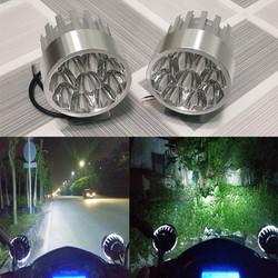 Đèn pha trợ sáng 9 led chuyên độ xe ô tô Tải