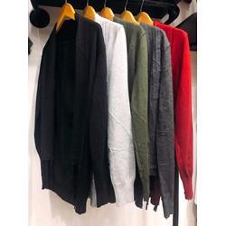 Khoác cardigan len tua rua 5 màu hàng nhập QC