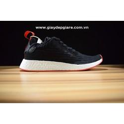Giày thể thao n-m-d r2 black red replica