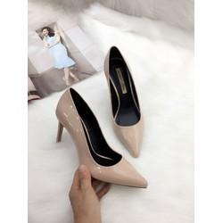 Giày cao gót bít mũi 9 cm