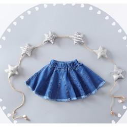 chân váy bò trẻ em từ 2 đến 10 tuổi