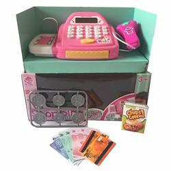 Máy tính tiền đồ chơi trẻ em - Bé tập làm nhân viên siêu thị