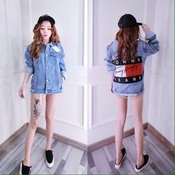 Áo khoác Jeans nữ thời trang, kiểu dáng sành điệu, phong cách trẻ