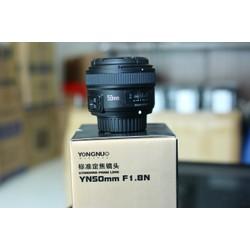 Ống kính Yongnuo 50 f1.8 cho nikon