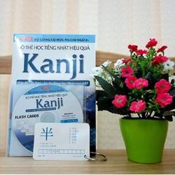 Bộ thẻ học tiếng Nhật hiệu quả Kanji - Kèm CD