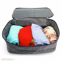 Túi du lịch vali kéo đựng đồ chống thấm 2 màu