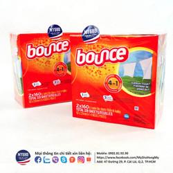 Khăn giấy thơm BOUNCE 160 tờ - USA chính hãng