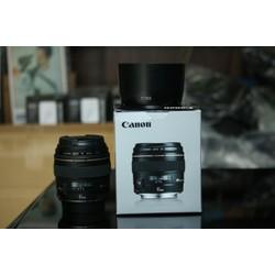 ống kính Canon EF 85mm f 1.8 như mới