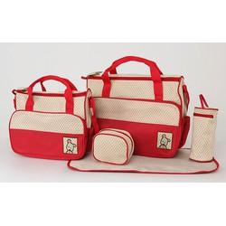 Bộ túi 5 món dành cho mẹ bỉm sữa -AL đen